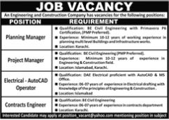 JOBS | An Engineering and Construction Company