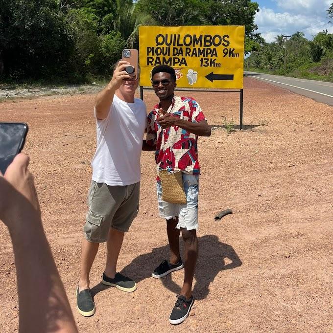 Entenda tudo sobre a visita de Luciano Huck ao Quilombo Rampa em Vargem Grande