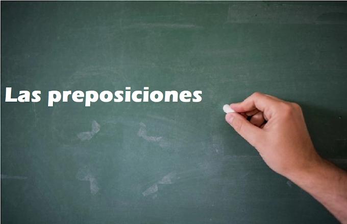EJEMPLOS DE  ORACIONES CON PREPOSICIONES