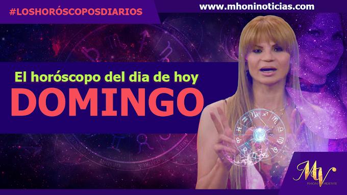 Los horóscopos del DOMINGO 03 de OCTUBRE del 2021 - Mhoni Vidente