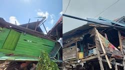 Angin Kencang Landa Sibulue Bone, Puluhan Rumah Rusak