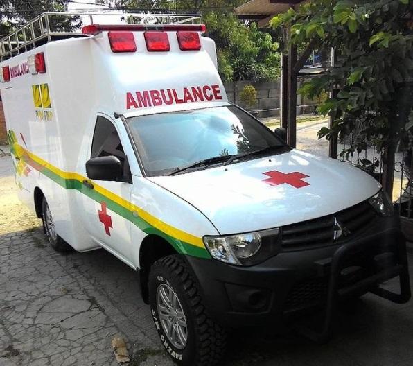 Ambulance Mitsubishi Strada Triton