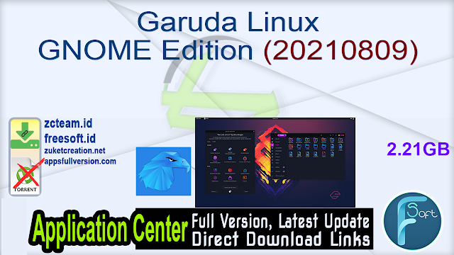 Garuda Linux GNOME Edition (20210809)