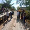 Sempat Rusak Parah, Jembatan Parit 16 Reteh Sudah Bisa di Lalui Secara Normal