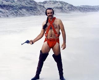 Sean Connery en el papel de Zed - Zardoz