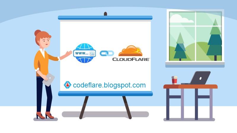 Cara Setting Cloudflare Server Untuk Kustom Domain Blogger