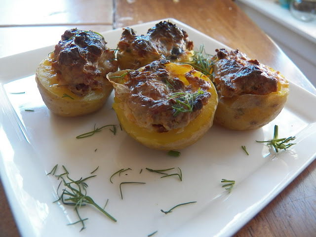 Stuffed Small Potatoes