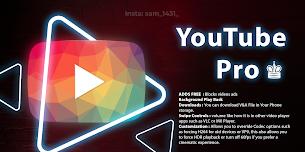 Download YouTube Pro Latest APK V5.0 [Sam Mods]