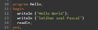 Perhatikan kode dibawah ini, apakah yang membuat program menghasilkan error...