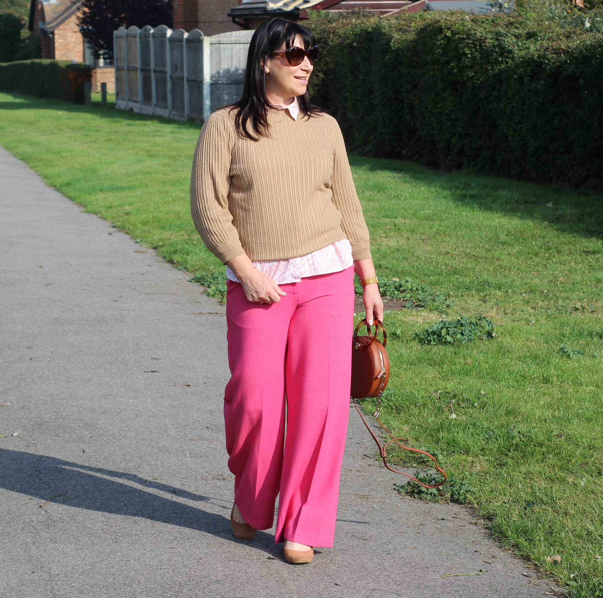 Pink and Tan ... it Works -  #Chicandstylish #LINKUP