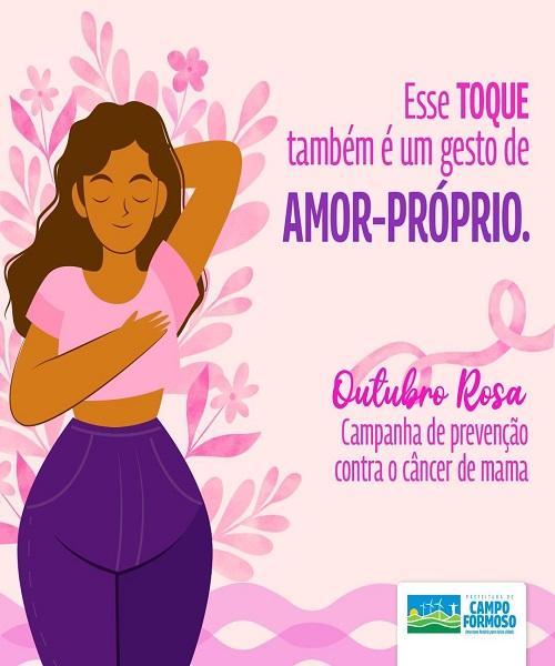 Campanha de Prevenção Contra o Câncer de Mama (Outubro Rosa)