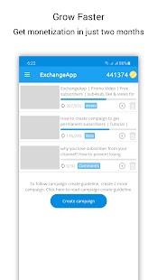exchange app sub4sub mod apk unlimited money