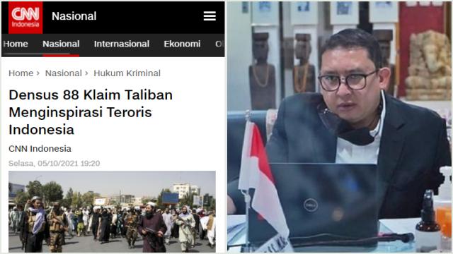 Fadli Zon Minta Densus 88 Dibubarkan saja: Teroris Jangan Dijadikan Komoditas!