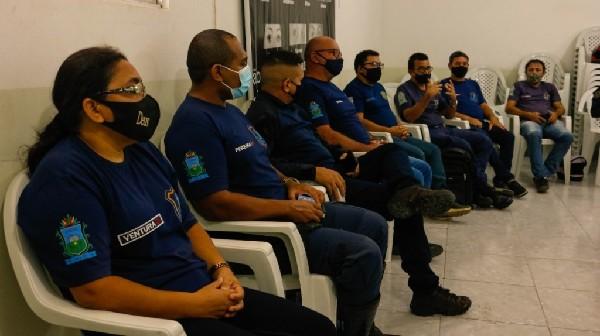Crato inicia capacitação para a implantação da Patrulha Maria da Penha no município
