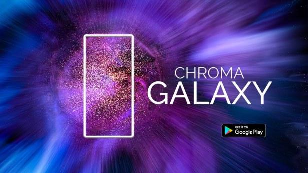 Chroma Galaxy - Μία δωρεάν εφαρμογή με live wallpapers υψηλής ανάλυσης από έναν πραγματικό καλλιτέχνη