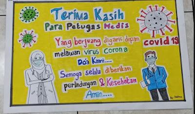 Poster Kelas 6 Virus Corona