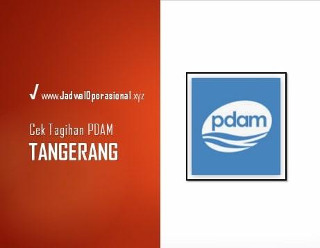 Cek Tagihan PDAM Tangerang