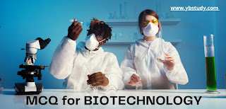 MCQ for Biotechnology
