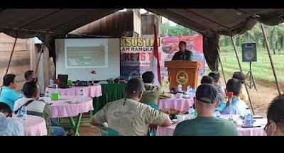 Kadispora Aceh Barat Puji Pemikiran Berilian Dandim 0105/Abar Yang Akan Membangun Wisata lslami Gunung Pungki