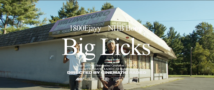 "Music Video Premiere : 1800Ejayy ft. NHB Boog ""Big Licks"""