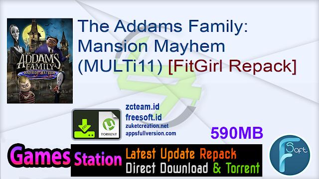 The Addams Family: Mansion Mayhem (MULTi11) [FitGirl Repack]