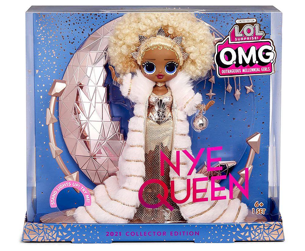 Коллекционная кукла Лол Омг NYE Queen