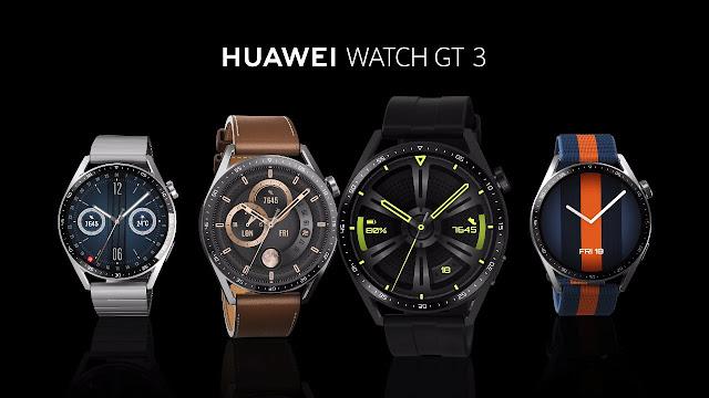 هواوي تُطلق ساعتها الذكية Huawei Watch GT3 بنظام HarmonyOS 2.1 وأكثر من 100 تمرين والمزيد