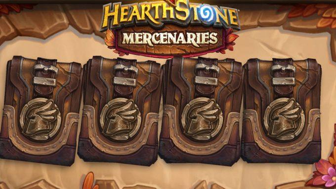 Packages in Hearthstone Mercenaries: price, info and drop rate