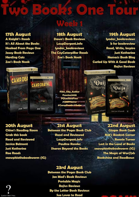 [Blog Tour] 'Camp Death' By Jim Ody #Horror #YA