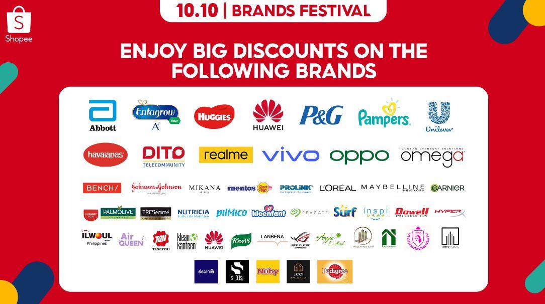 Shopee 10.10 Brands Festival 2021