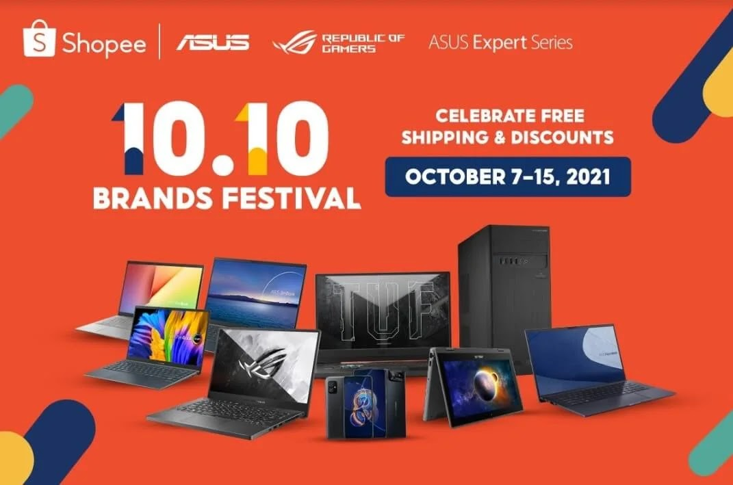 ASUS' and ROG's Shopee 10.10 Offers