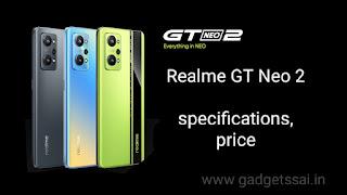 Realme GT Neo 2 price