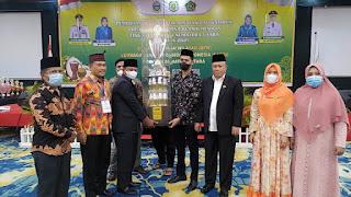 Sergai Raih Juara Umum FSQ ke XXV Tingkat Provinsi Sumut 2021