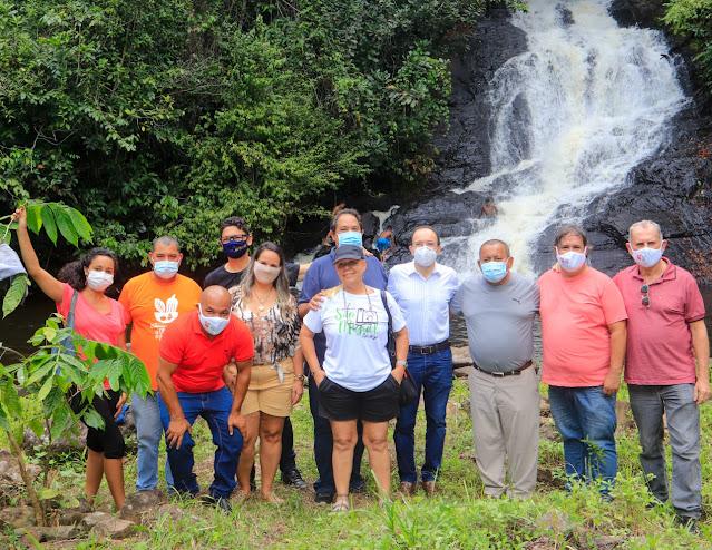 NaChapaQuente :: Notícias de Itabuna para o Mundo ::.: Itacaré- Prefeitura  e CAR discutem projeto de turismo na Pancada Grande