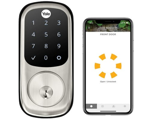 Yale YRD226-CBA-619 Assure Touchscreen Wi-Fi Smart Lock