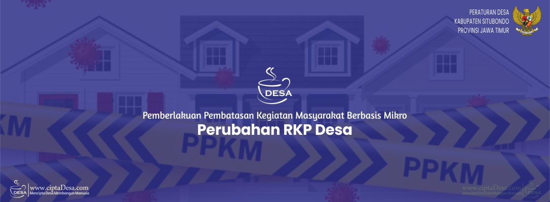 Berita Acara Kesepakatan Kades dan BPD - Perubahan RKP Desa 2021 (PPKM)