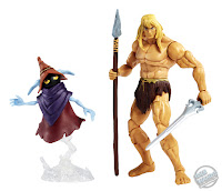 Mattel Masters of the Universe Revelation Savage He-Man and Orko figure pack