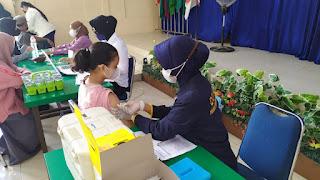 Polres Pelabuhan Makassar terus Buka Akses Vaksinasi Door to door