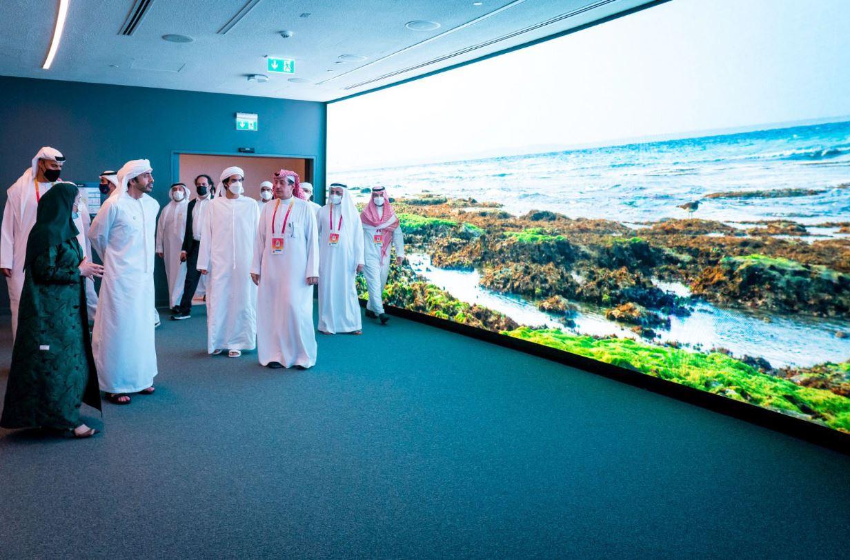 عبدالله بن زايد في إكسبو دبي Expo Dubai إشادة بالمشاركات الخليجية والتطلع نحو مستقبل واعد