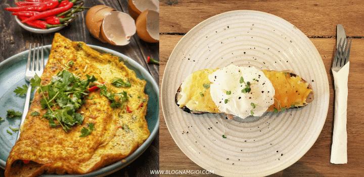 Top 5 món ăn ngon và dễ làm từ trứng