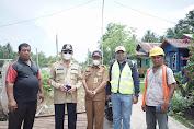 Bupati Inhil Tinjau Pembangunan Jalan Simpang Kuala Saka - Teluk Lanjut - Sungai Guntung