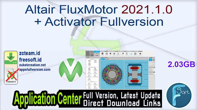 Altair FluxMotor 2021.1.0 + Activator Fullversion