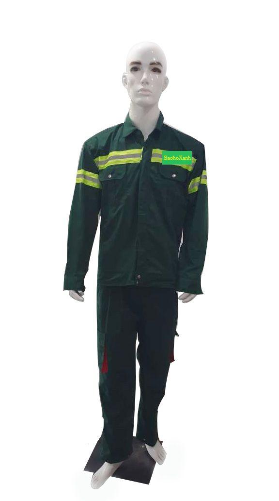 Áo Bảo Hộ Lao Động Nam Nữ Giá Rẻ - MDBH0100