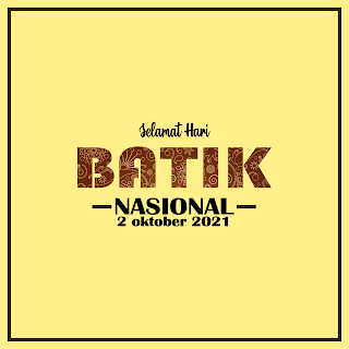 gambar poster hari batik 2 oktober 2021 - kanalmu