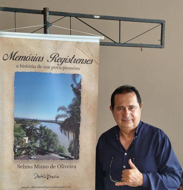 Selmo Mimo lança Memórias Registrenses
