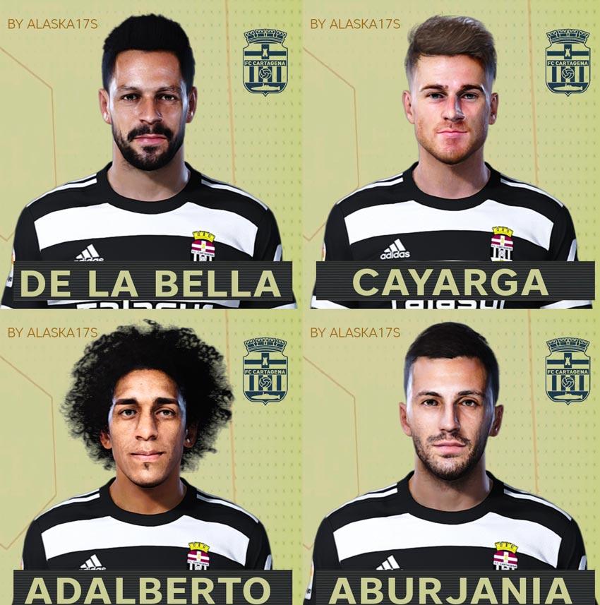 Facepack Cartagena FC 20-21 For eFootball PES 2021