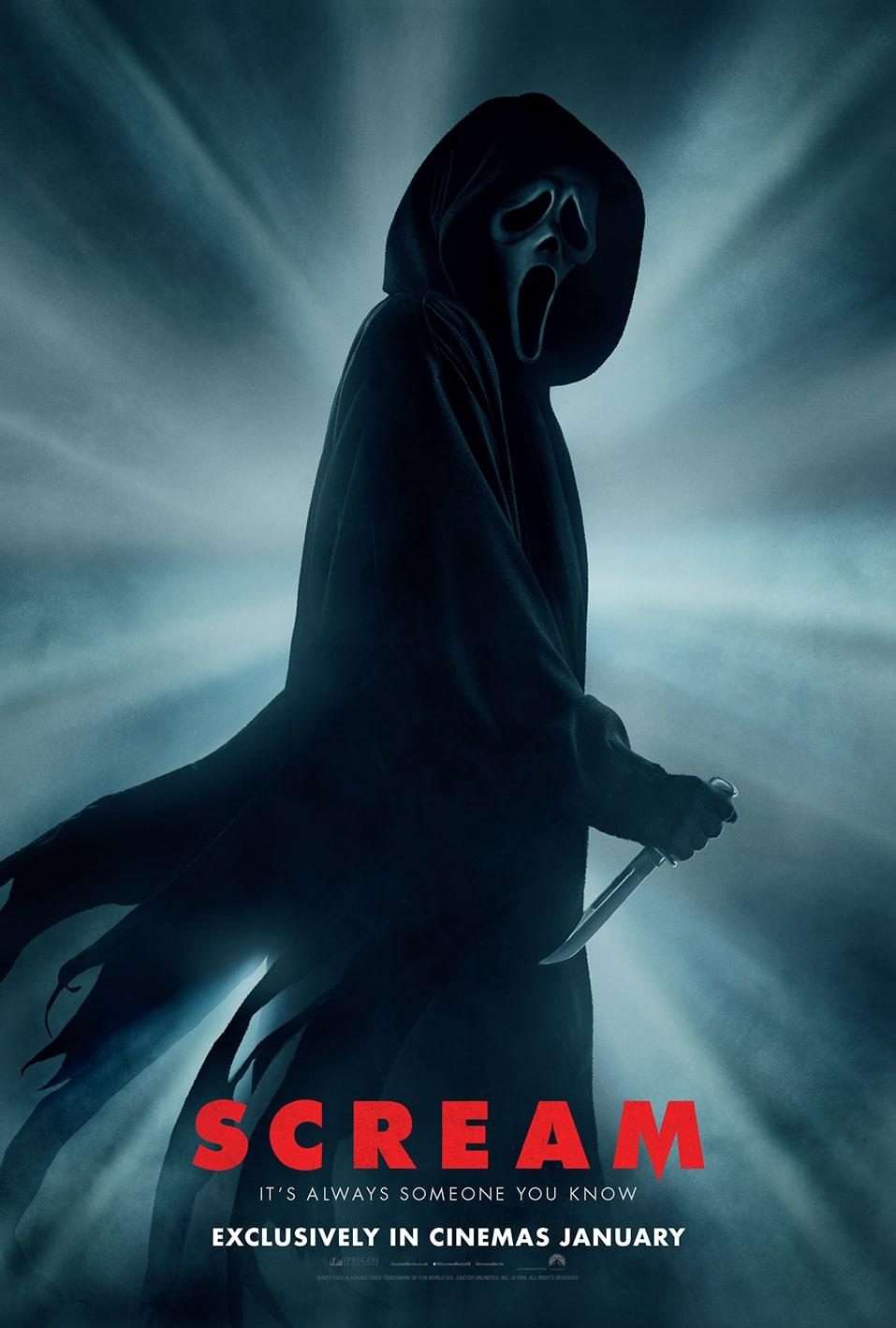 Paramount показала трейлер фильма ужасов «Крик 5» - Постер 1