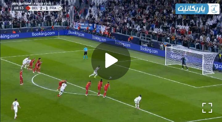 Video: Kylian Mbappe scores a wonderful penalty spot goal to make 2-2 against Belgium