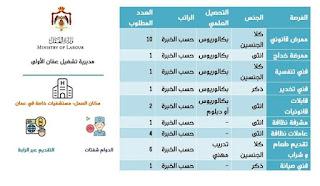 ٢٧ فرصة عمل للعمل لدى مستشفيات خاصة في عمان - بكالوريوس - دبلوم - تدريب مهني.