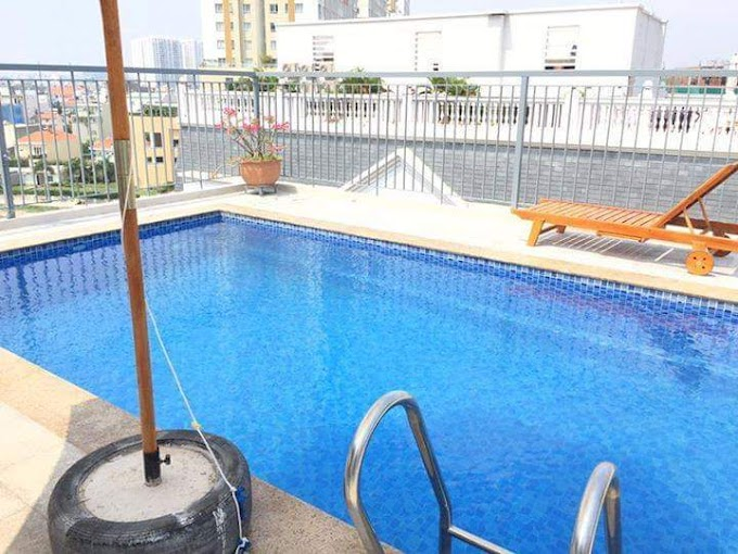 1 bedroom 45m2 balcony swimming pool, gym in Thao Dien 10mil/month